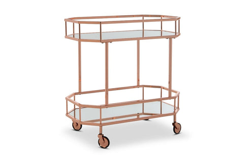Selma Bar Cart ROSE GOLD