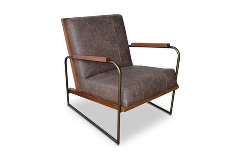 Clive Accent Chair BRUNETTE