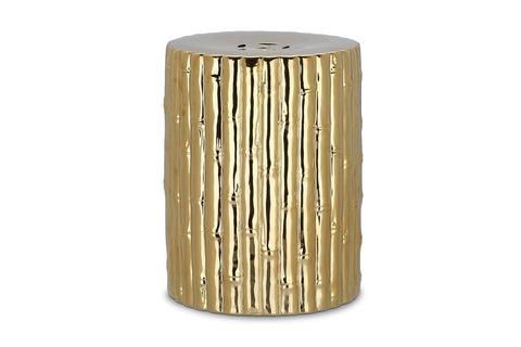 Bamboo Shoot Garden Stool GOLD
