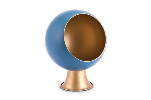 Orb Planter Blue LARGE