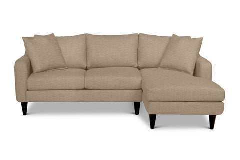 Beatrix 2pc Sectional Sofa :: Configuration: RAF - Chaise on the Right