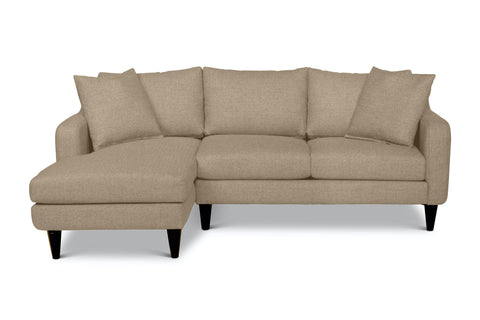 Beatrix 2pc Sectional Sofa :: Configuration: LAF - Chaise on the Left