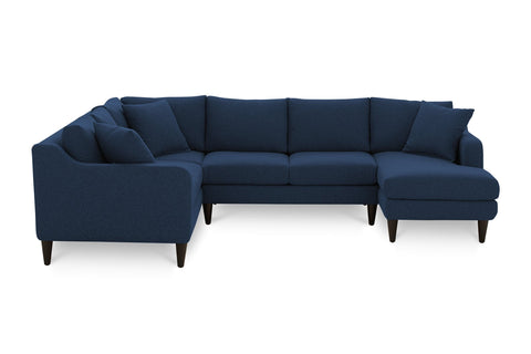 Beatrix 3pc Sectional Sofa :: Configuration: RAF - Loveseat on the Right
