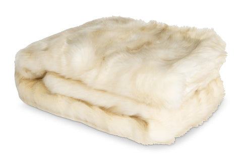 Duke Faux Fur Throw