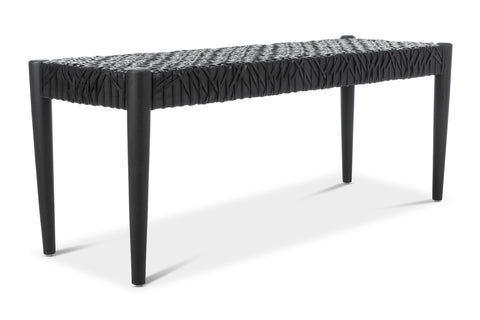 Loomis Leather Bench