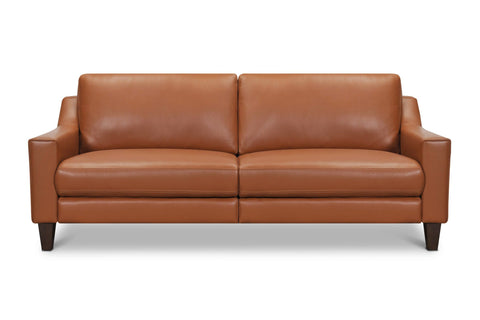 Espada Leather Sofa with Power Foot Rest