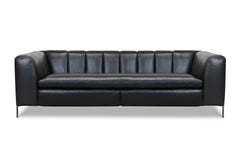 Phantom Leather Sofa with Power Foot Rest