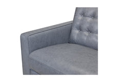 Toranado Leather Sofa with Power Foot Rest