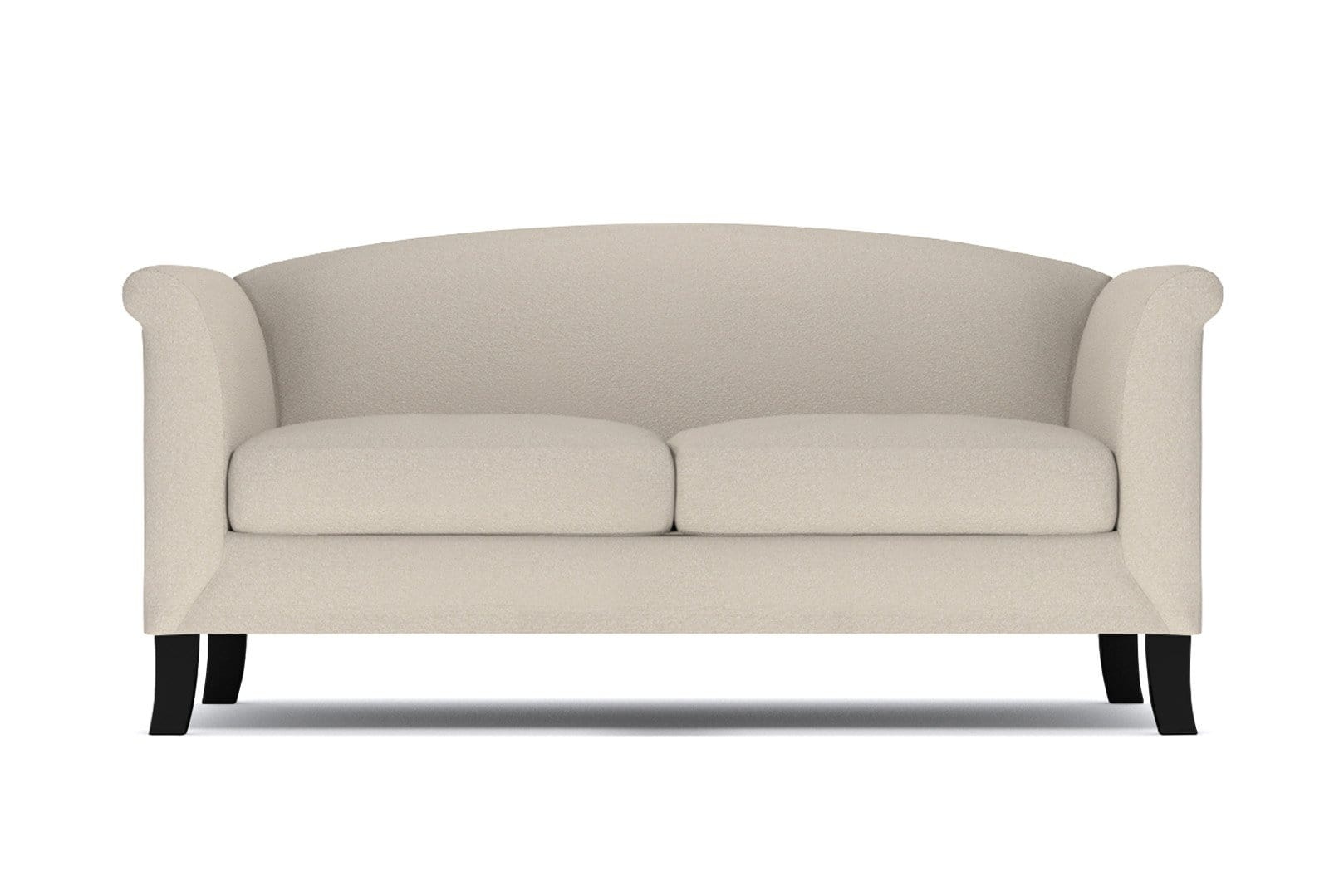 Albright Apartment Size Sofa - Beige - Small Space Modern Couch Made in the USA - Sold by Apt2B