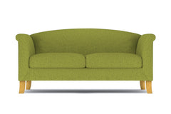 "Albright Apartment Size Sofa :: Leg Finish: Natural / Size: Apartment Size - 74""w"