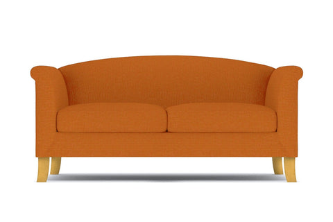 Albright Apartment Size Sofa :: Leg Finish: Natural / Size: Apartment Size - 74