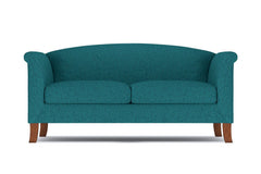 "Albright Loveseat :: Leg Finish: Pecan / Size: Loveseat - 60""w"