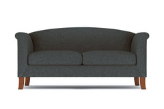 "Albright Apartment Size Sofa :: Leg Finish: Pecan / Size: Apartment Size - 74""w"