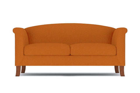 Albright Apartment Size Sofa :: Leg Finish: Pecan / Size: Apartment Size - 74