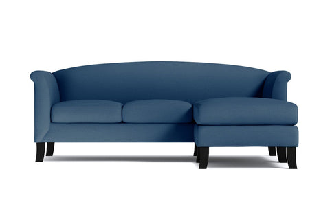 Albright Reversible Chaise Sofa :: Leg Finish: Espresso