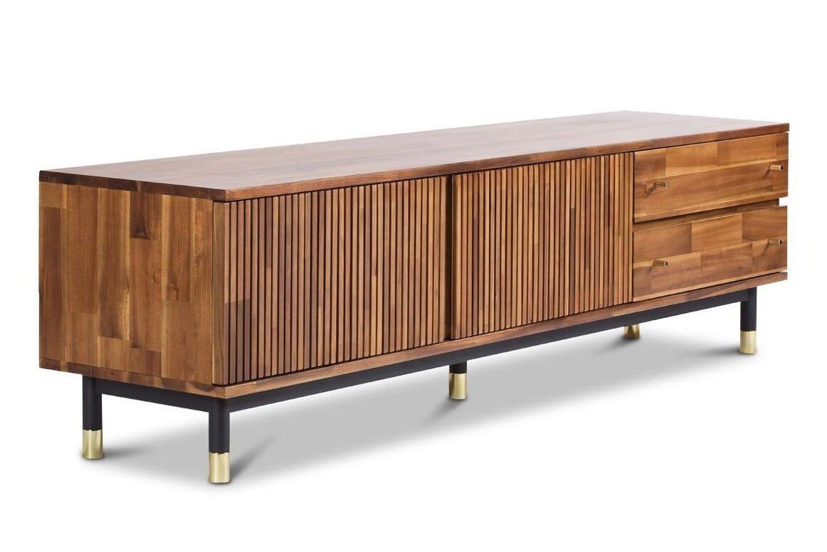 Midtown Low Media Stand - Living Room Furniture sold by Apt2B