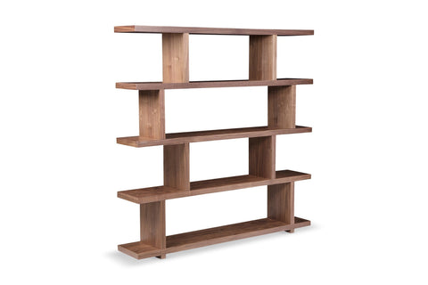 Audrina Bookcase WALNUT