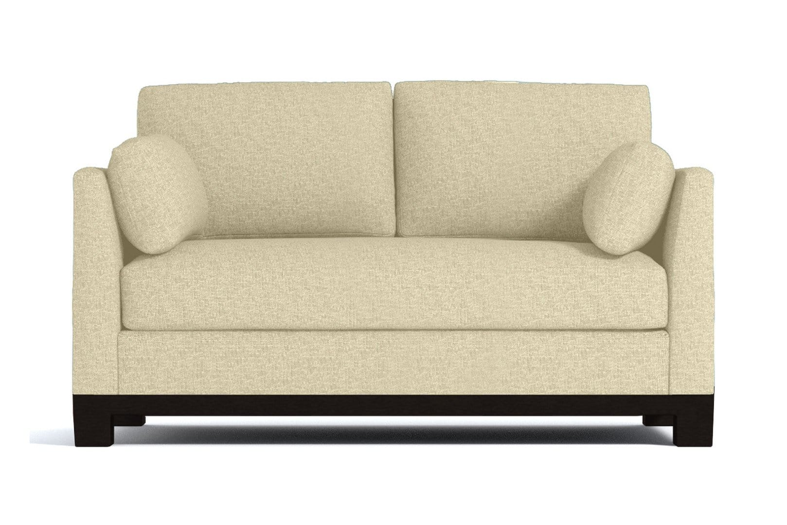 Avalon Apartment Size Sleeper Sofa - Beige - Pull Out Couch Bed Made in the USA - Sold by Apt2B