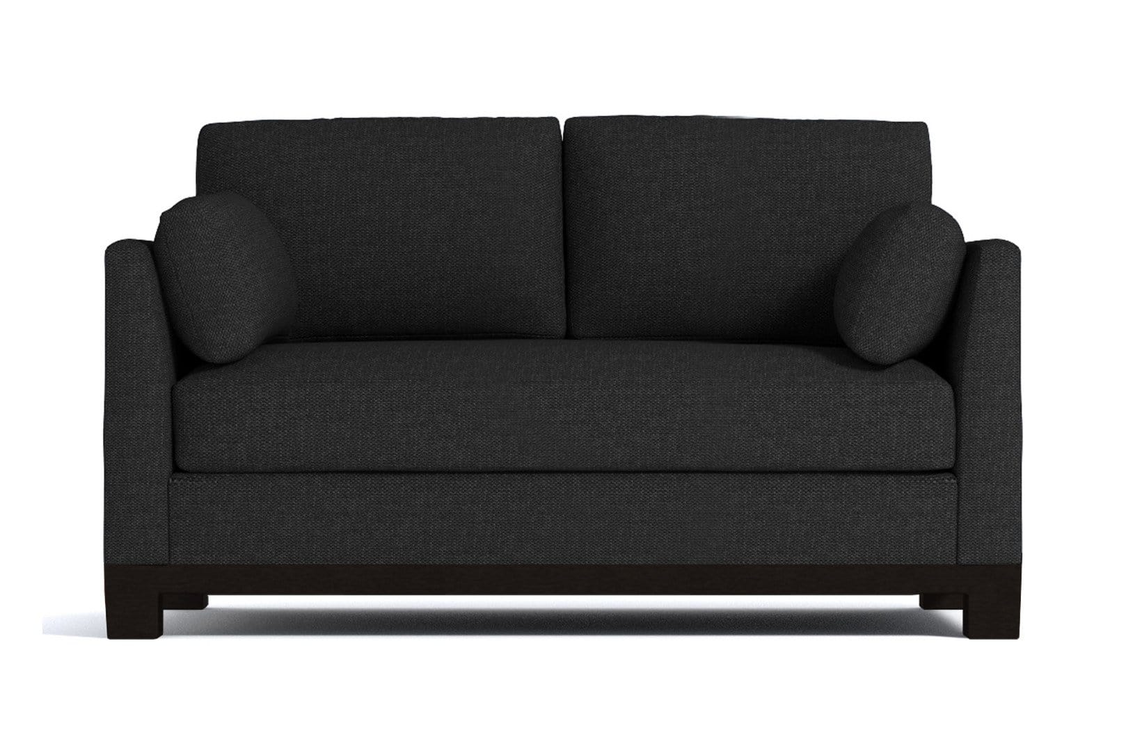 Avalon Apartment Size Sleeper Sofa - Dark Grey - Pull Out Couch Bed Made in the USA - Sold by...