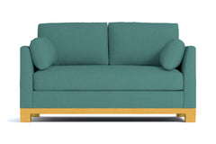 "Avalon Apartment Size Sofa :: Leg Finish: Natural / Size: Apartment Size - 71""w"