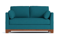 "Avalon Loveseat :: Leg Finish: Pecan / Size: Loveseat - 57""w"