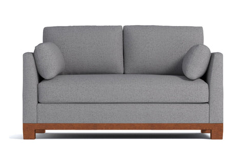 Avalon Apartment Size Sofa :: Leg Finish: Pecan / Size: Apartment Size - 71