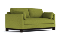 Avalon Queen Size Sleeper Sofa :: Leg Finish: Espresso / Sleeper Option: Memory Foam Mattress