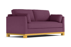 Avalon Queen Size Sleeper Sofa :: Leg Finish: Natural / Sleeper Option: Memory Foam Mattress