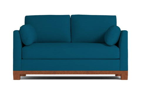 Avalon Loveseat :: Leg Finish: Pecan / Size: Loveseat - 57