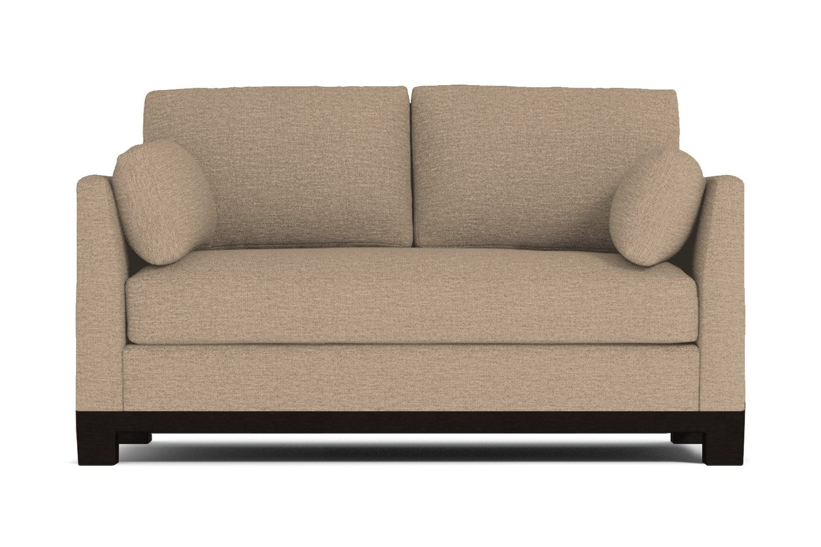 Avalon Apartment Size Sleeper Sofa - Beige QUICK SHIP - Pull Out Couch Bed Made in the USA - Sold by Apt2B