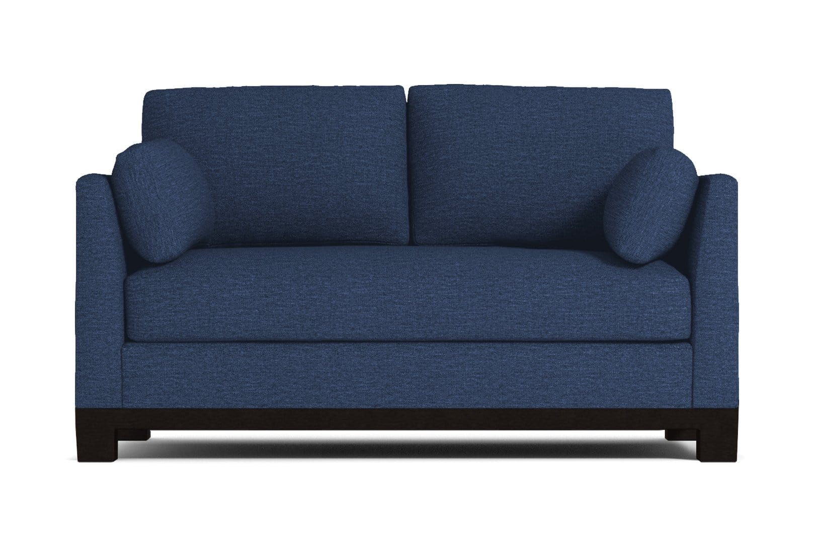 Avalon Apartment Size Sleeper Sofa - Blue QUICK SHIP - Pull Out Couch Bed Made in the USA - Sold...