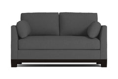 Avalon Apartment Size Sleeper Sofa :: Leg Finish: Espresso / Sleeper Option: Memory Foam Mattress