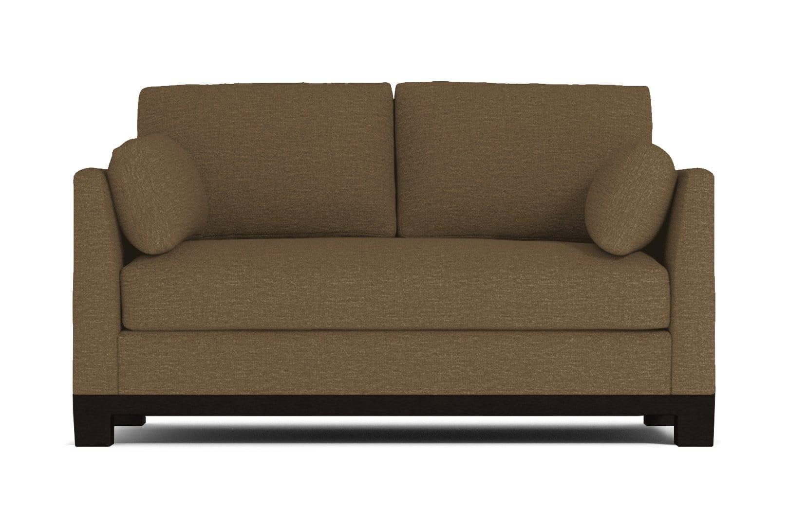 Avalon Apartment Size Sleeper Sofa - Brown - Pull Out Couch Bed Made in the USA - Sold by Apt2B