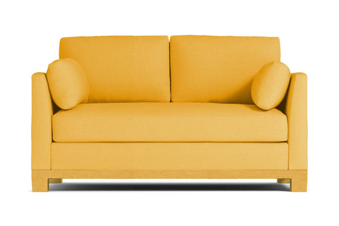 Avalon Loveseat :: Leg Finish: Natural / Size: Loveseat - 57