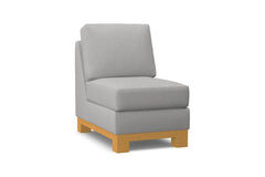 Avalon Armless Chair :: Leg Finish: Natural