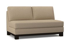 Avalon Armless Loveseat :: Leg Finish: Espresso