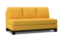 Avalon Armless Sofa :: Leg Finish: Espresso