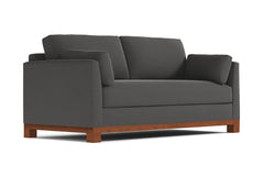 Avalon Sofa :: Leg Finish: Pecan