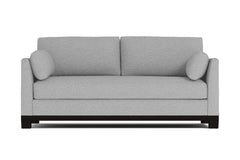 Avalon Queen Size Sleeper Sofa :: Leg Finish: Espresso / Sleeper Option: Deluxe Innerspring Mattress
