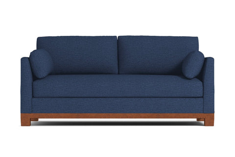 Avalon Sofa :: Leg Finish: Pecan / Sleeper Option: ----