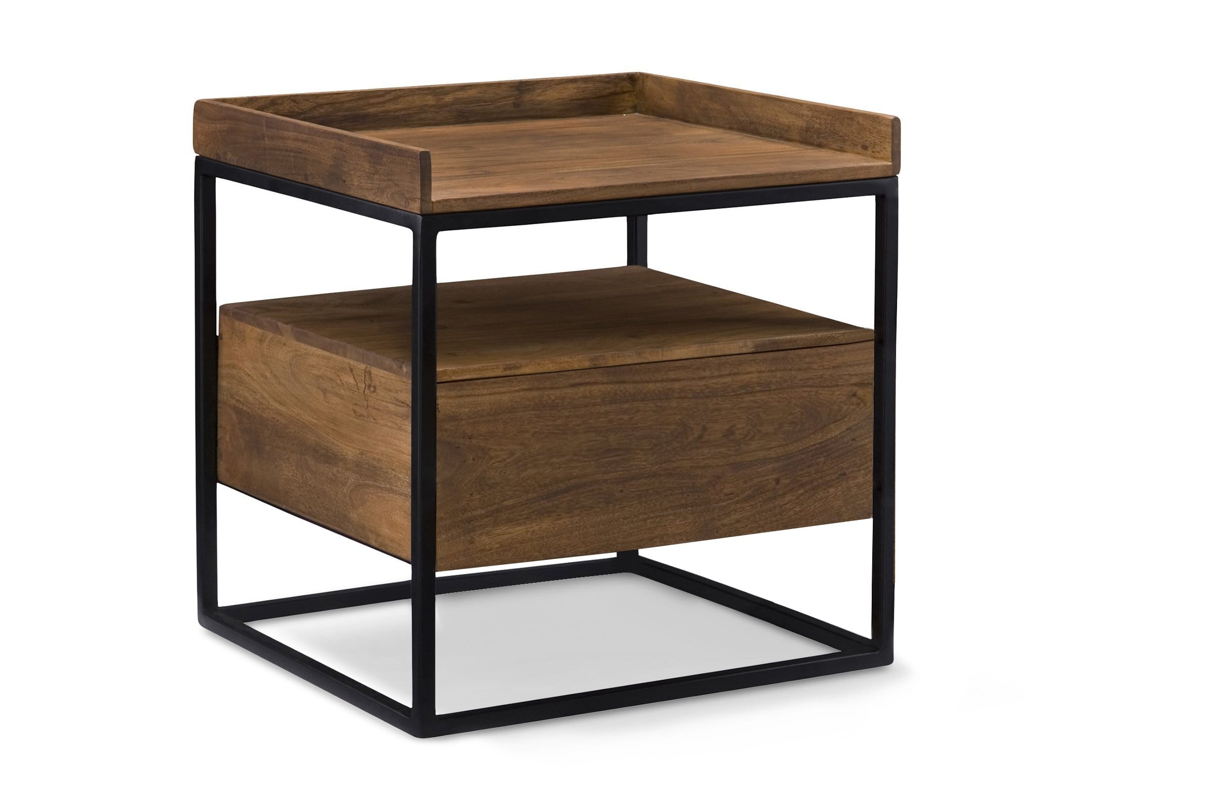 Bannack Side Table - Modern Side Table - Sold by Apt2B