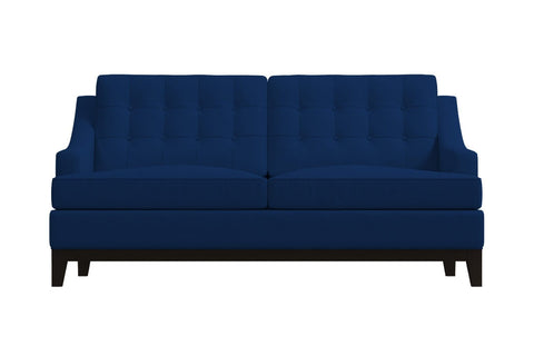 Bannister Apartment Size Sofa :: Leg Finish: Espresso / Size: Apartment Size - 69