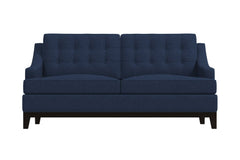 Bannister Apartment Size Sleeper Sofa :: Leg Finish: Espresso / Sleeper Option: Memory Foam Mattress