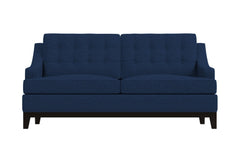 Bannister Twin Size Sleeper Sofa :: Leg Finish: Espresso / Sleeper Option: Memory Foam Mattress