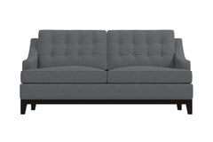 Bannister Apartment Size Sleeper Sofa :: Leg Finish: Espresso / Sleeper Option: Deluxe Innerspring Mattress