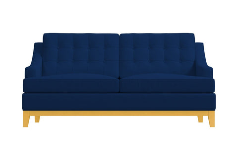 Bannister Apartment Size Sofa :: Leg Finish: Natural / Size: Apartment Size - 69