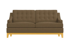 Bannister Apartment Size Sleeper Sofa :: Leg Finish: Natural / Sleeper Option: Deluxe Innerspring Mattress