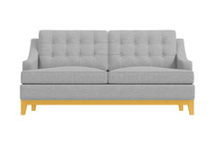 "Bannister Loveseat :: Leg Finish: Natural / Size: Loveseat - 60""w"