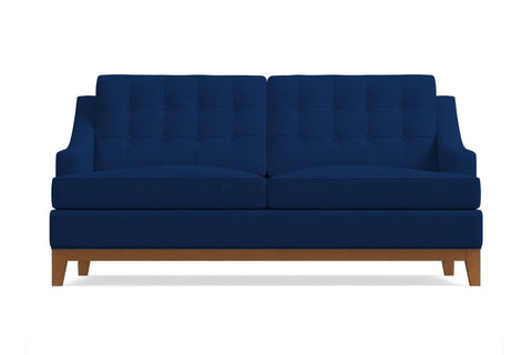 Bannister Loveseat :: Leg Finish: Pecan / Size: Loveseat - 60