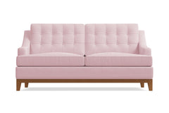 "Bannister Loveseat :: Leg Finish: Pecan / Size: Loveseat - 60""w"
